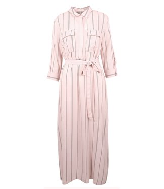Teoh & Lea Teoh & Lea 23240 Long Shirt Dress Pale Pink