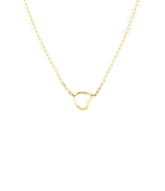 Wildthings Wildthings Wild At Heart Necklace Gold