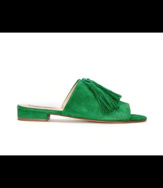 Fabienne Chapot Fabienne Chapot Sunset Sandal Suede Basil Green