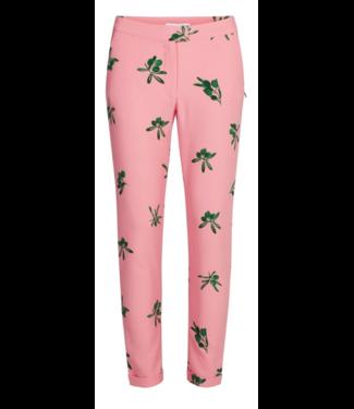 Fabienne Chapot Fabienne Chapot Demi Trousers Geranium Pink Olive Green