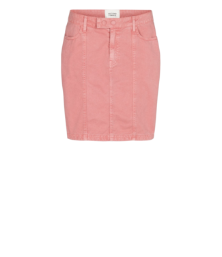Second Female Second Female Jenny MW Denim Skirt Brandied Apricot
