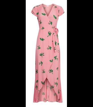 Fabienne Chapot Fabienne Chapot Archana Dress Geranium Pink/Green Olive You