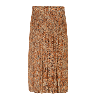 10 Feet 10 Feet Long Skirt With Animal Print Amber