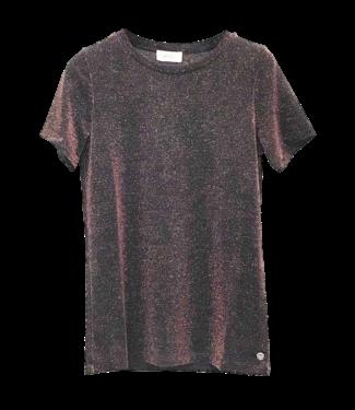 Ottod'ame Ottod'ame XM7720 Maglia T-Shirt Bordeaux