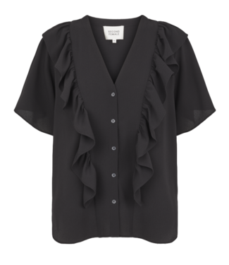 Second Female Second Female Herlie SS Blouse Black