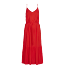 Just Female Just Female Life Singlet Dress Fiery Red