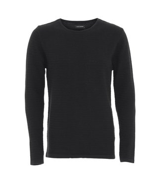 Clean Cut Copenhagen Clean Cut Copenhagen Aberdeen Crew Neck Black