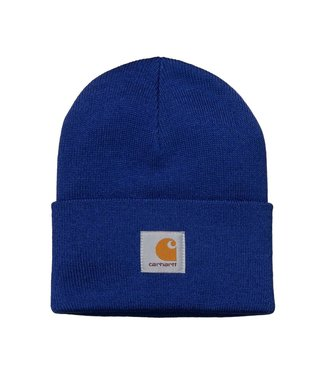 Carhartt Carhartt Acrylic Watch Hat Thunder Blue