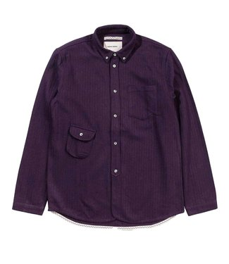Native North Native North Wool Workers Shirt Purple