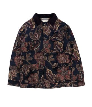 Native North Native North Orchid Jacquard Workmen Jacket Navy Floral