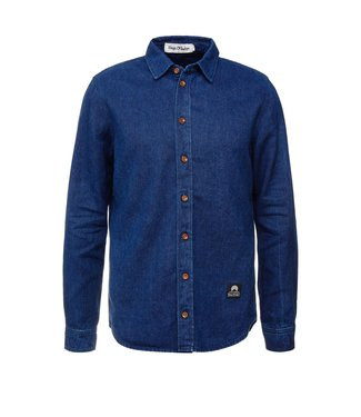 Kings of Indigo Kings Of Indigo Enda Rinse Shirt Navy