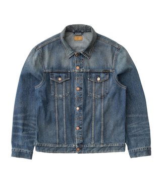 Nudie Nudie Jeans Jerry Dark Worn Denim Jacket