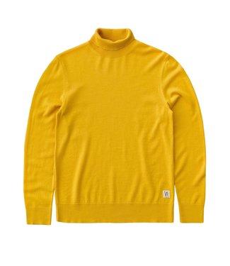 Nudie Jeans Nudie Cornelis Roll Neck Yellow