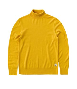 Nudie Nudie Cornelis Roll Neck Yellow