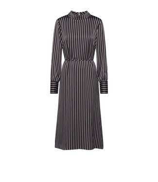 Just Female Just Female Rosie Dress Pearl Coffee Stripe