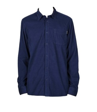 Dedicated Dedicated Shirt Varberg Corduroy Blue