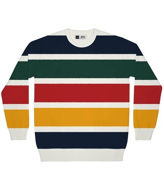Dedicated Dedicated Sweatshirt Mora Color Stripes Multi Color