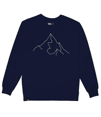 Dedicated Dedicated Sweatshirt Malmo Mountain Navy