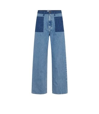 Just Female Just Female Angelina Denim Trousers Jeans Blue Denim