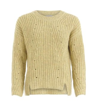 Coster Copenhagen Coster Copenhagen Knit in Recycled Polyester Light Yellow 196-2515