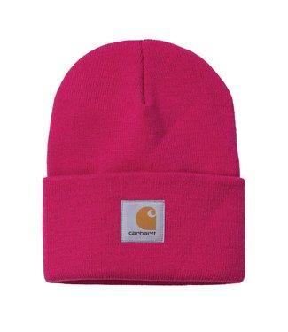 Carhartt Carhartt Acrylic Watch Hat Ruby Pink