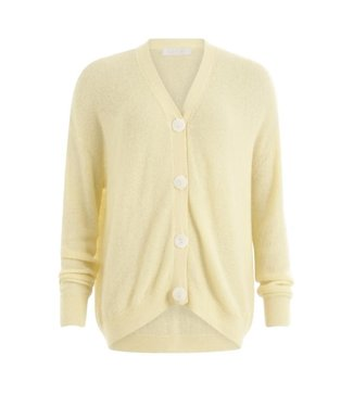 Coster Copenhagen Coster Copenhagen Cardigan Buttons Light Yellow
