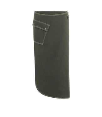 Coster Copenhagen Coster Copenhagen Skirt Wrap Pocket Dark Green