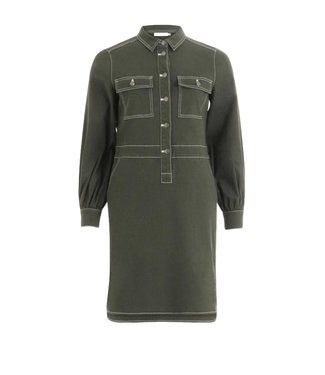 Coster Copenhagen Coster Copenhagen Dress Long Sleeves Dark Green