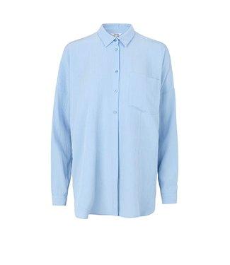 MbyM Mbym Neveah Tikki Shirt Placid Blue