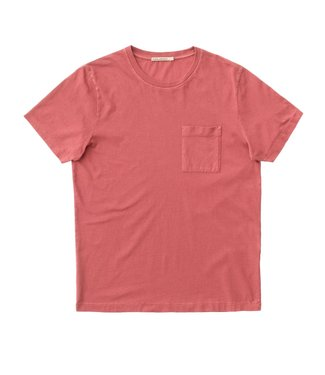 Nudie Jeans Nudie Jeans Roy One Pocket Tee Dusty Red