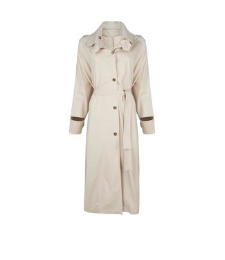 chptr-S Chptr-s The New Yorker Coat Beige