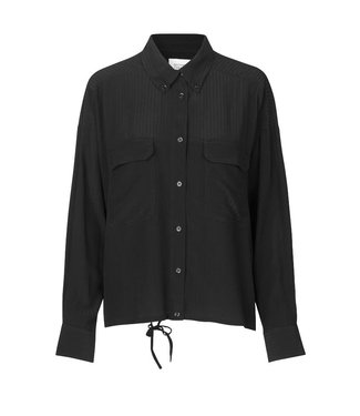 Second Female Second Female Tamara LS Pocket Shirt Black
