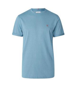 Les Deux Les Deux Norregaard T-shirt Provincial Blue Orange