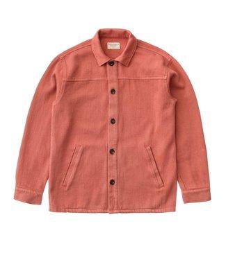 Nudie Jeans Nudie Jeans Elias Twill Overshirt Dusty Red