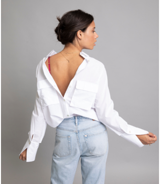 Chptr-S Chptr-s The London Blouse White