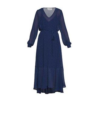 Just Female Just Female Milou Maxi Dress Dark Denim