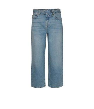 Moss Copenhagen Moss Copenhagen Kaela Hw Culotte Jeans Blue Wash