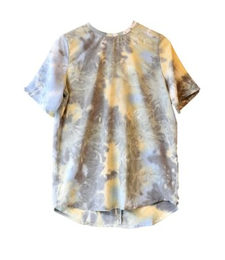 Norr Norr Lucy Top Olive Tie Dye