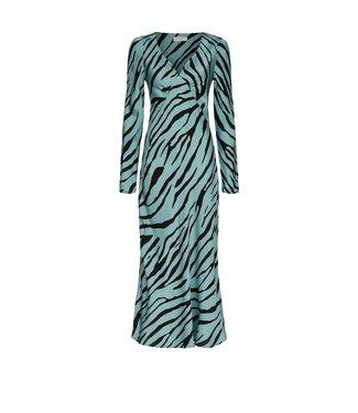 Fabienne Chapot Fabienne Chapot Doris Lou Dress Blossom Blue/Black Zebby Zebra