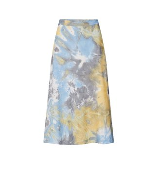Norr Norr Lucy Skirt Olive Tie Dye