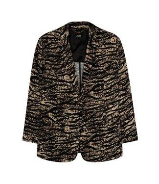Alix Alix Animal Woven Animal Flow Blazer 201467497 Animal