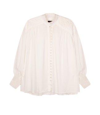 Alix Alix Light Viscose Blouse Soft White