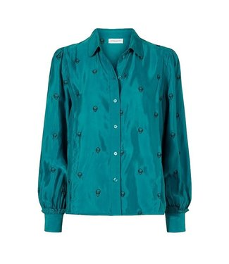 Fabienne Chapot Fabienne Chapot Toni Son Embroidery Blousy The Real Teal