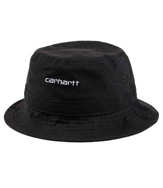 Carhartt Carhartt Script Bucket Hat Black/White