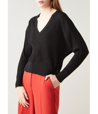 Second Female Second Female Irene Knit V-Neck Black
