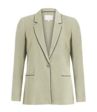 Coster Copenhagen Coster Copenhagen Suit Jacket Slits Details At Cuffs Sea Grass