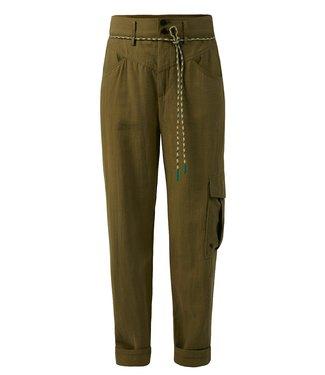 10 Feet 10 Feet Tencel Blend Worker Pants Moss