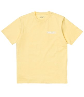 Carhartt Carhartt S/S College Script T-shirt Fresco / White