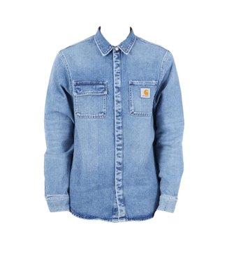 Carhartt Carhartt Salinac Shirt Jac Blue Worn Bleached