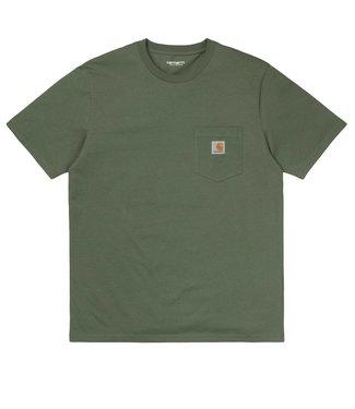 Carhartt Carhartt S/S Pocket T-shirt Single Jersey Dollar Green
